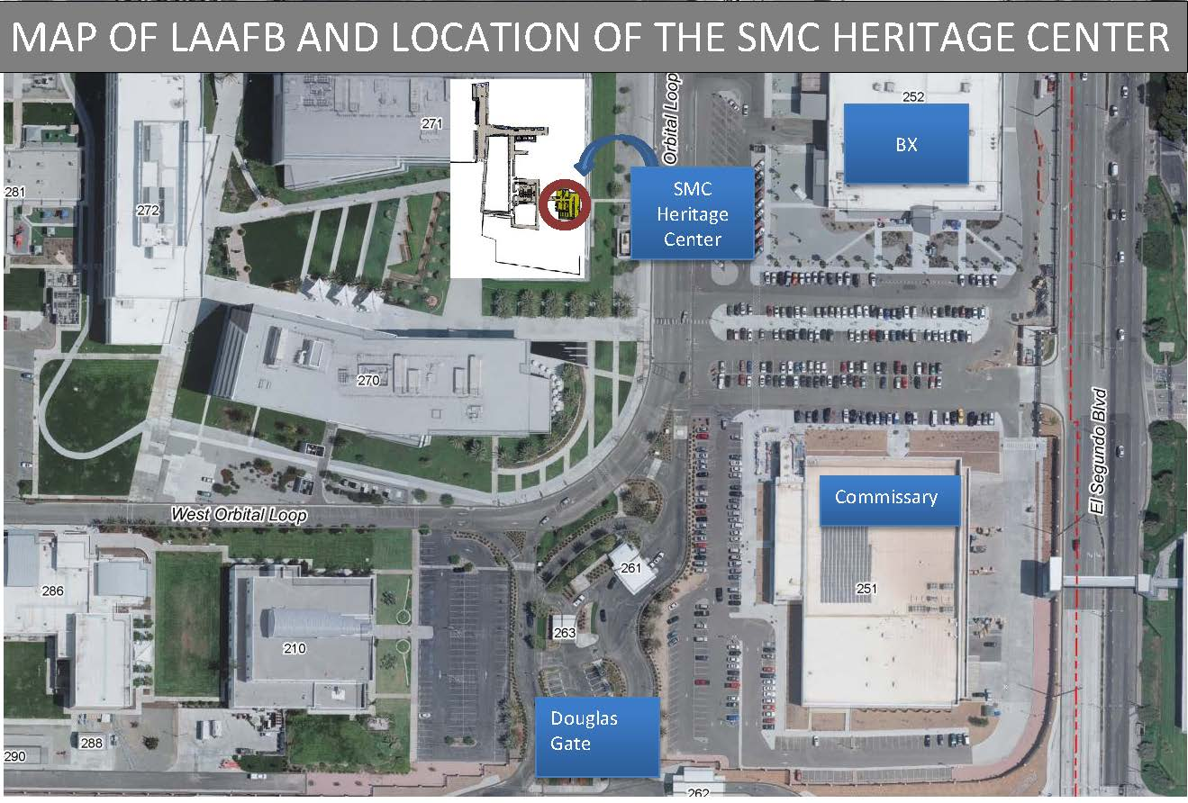 Location of Heritage Center